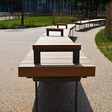 Artform Urban Furniture at Brunswick Park